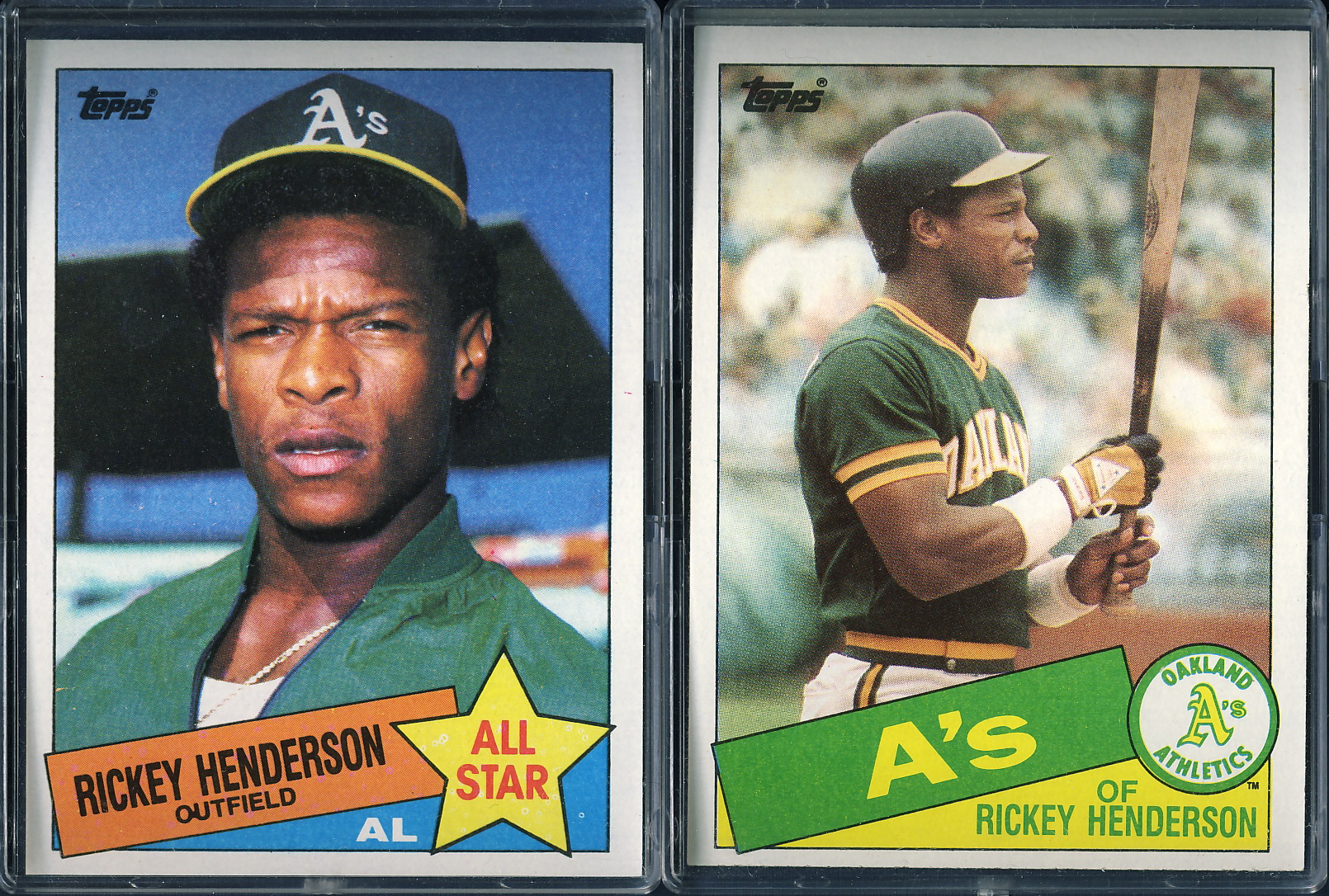 Topps 1985 Lifetime Topps Project