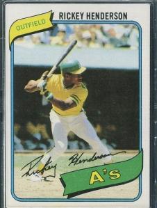1980 Henderson Ryan Ozzie