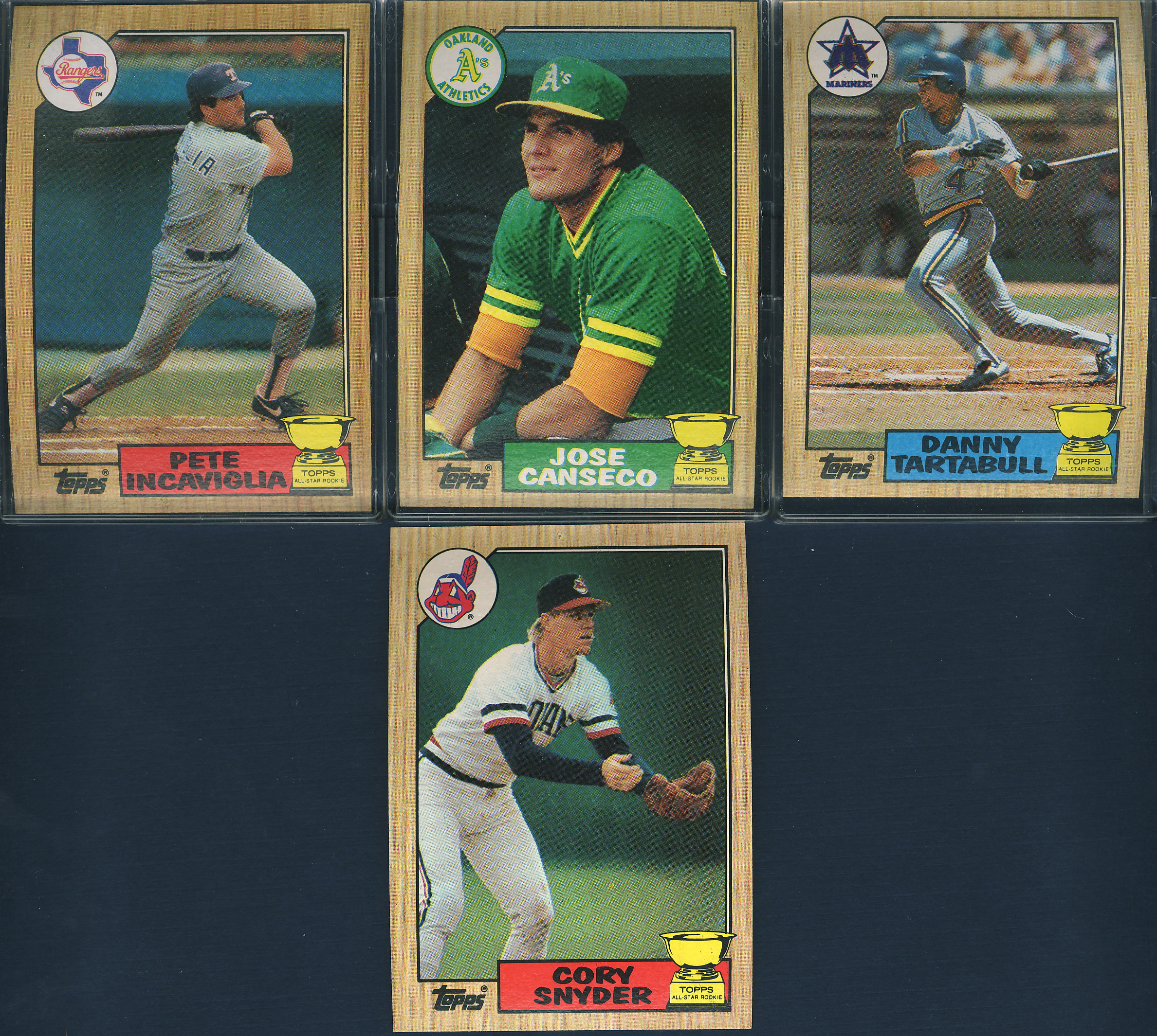 1987 Topps All Star Rookie Team And Future Stars
