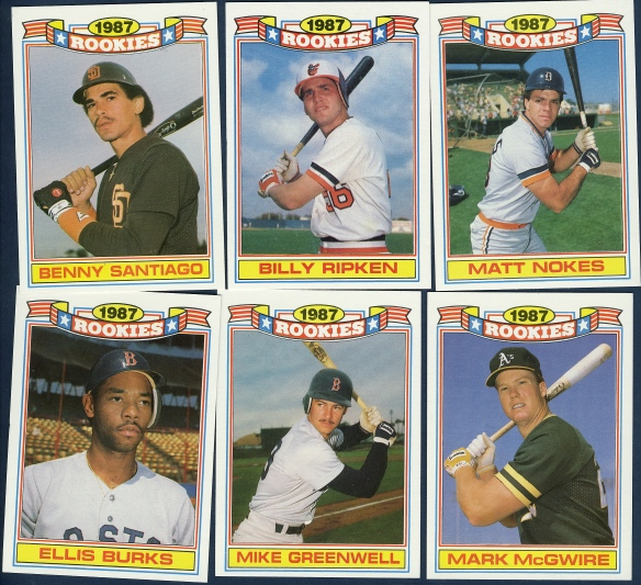 1988 Topps Glossy Sets Lifetime Topps Project