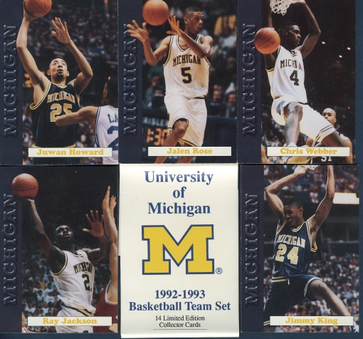 Fab 5 Michigan cards
