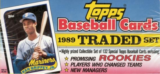 1989 Topps Traded Lifetime Topps Project