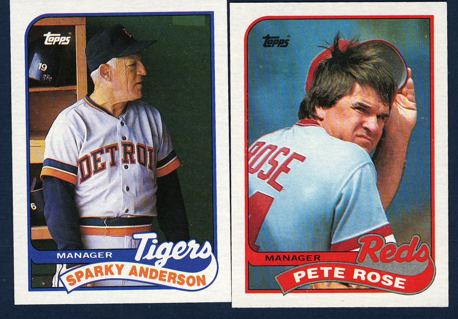 1989 Topps Cards Big Red Machine Lifetime Topps Project