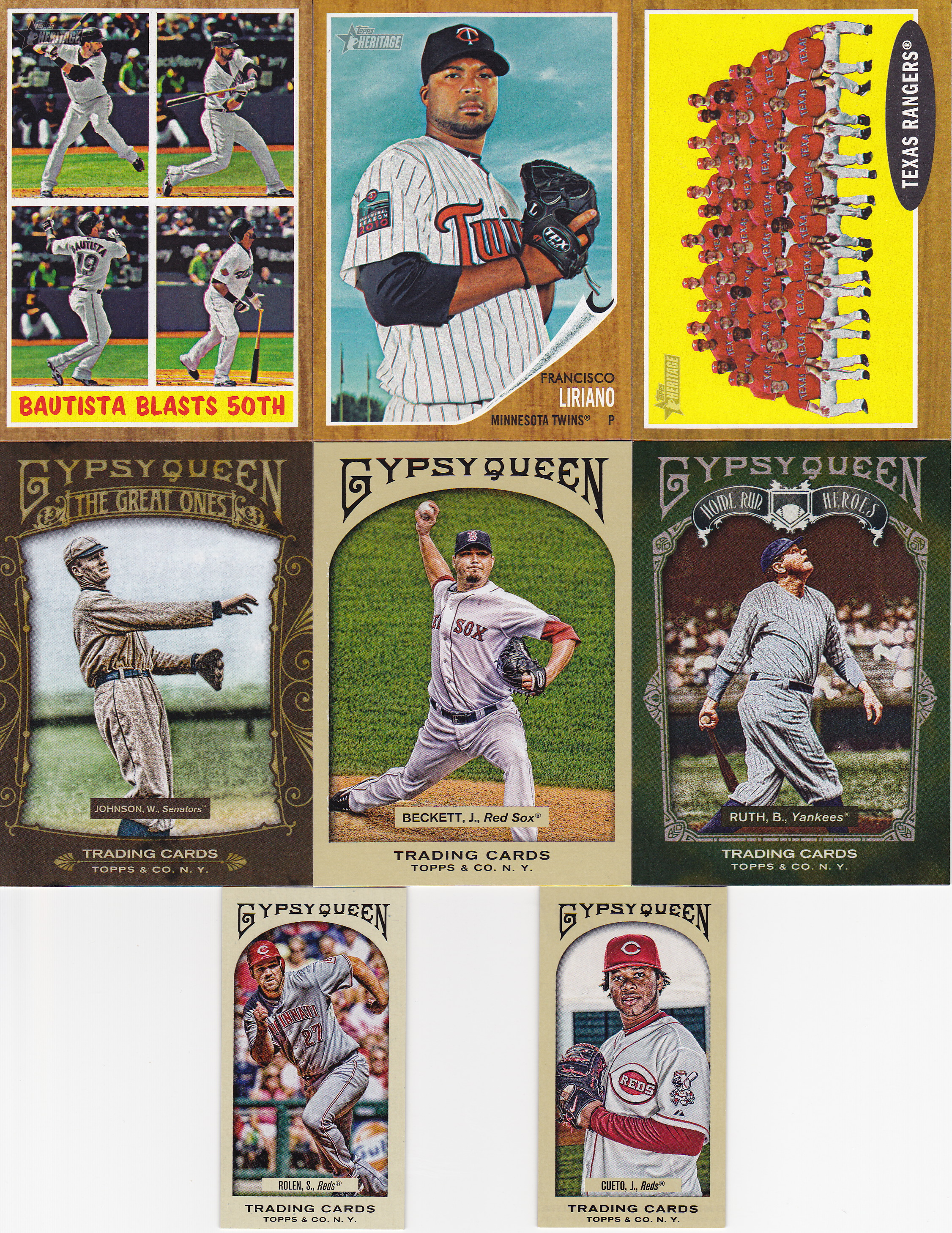 May 2011 Lifetime Topps Project