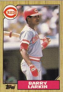 1987 Topps Larkin