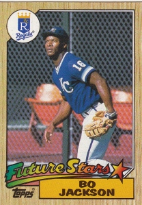 1987 Topps Bo Jackson