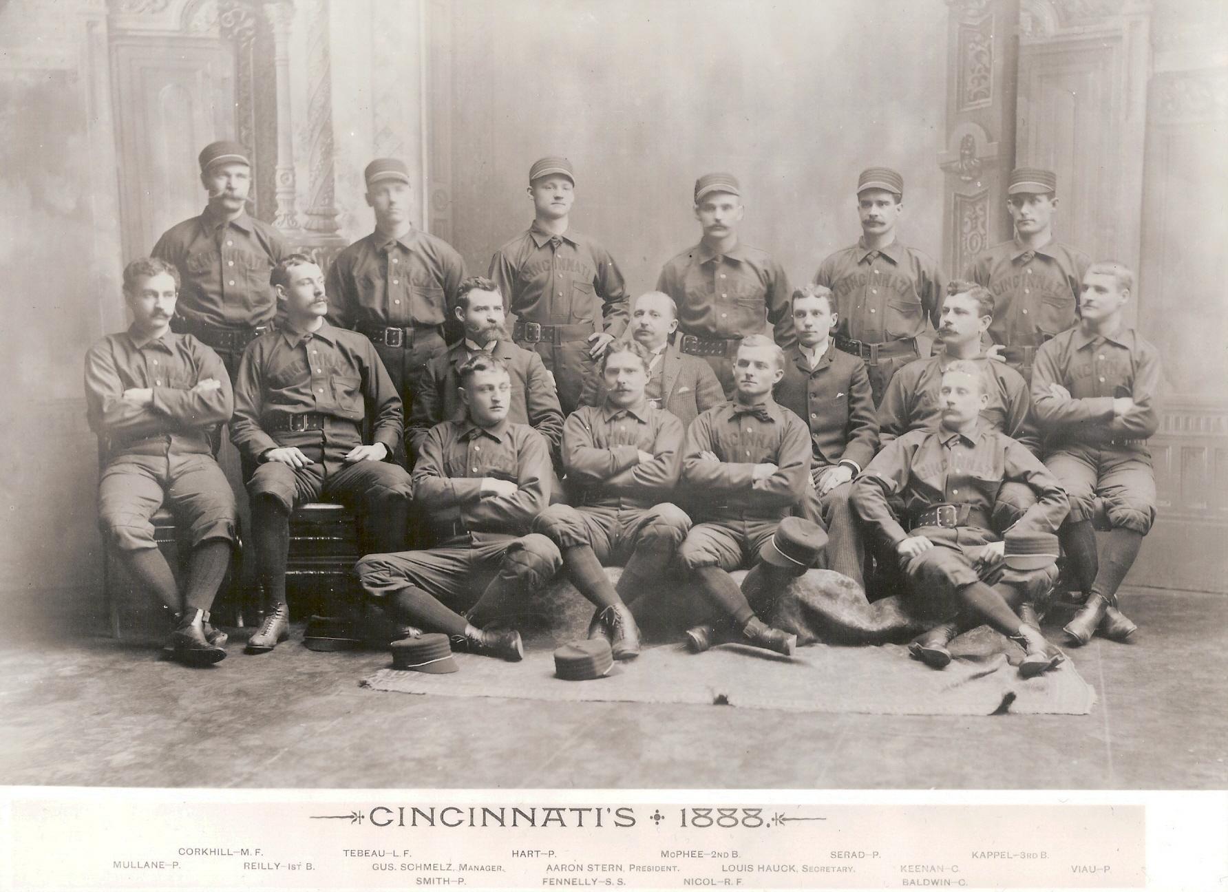 Reds Cincinnati Time Record All