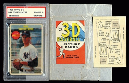 A Look Back At 1968 Topps 3d Lifetime Topps Project