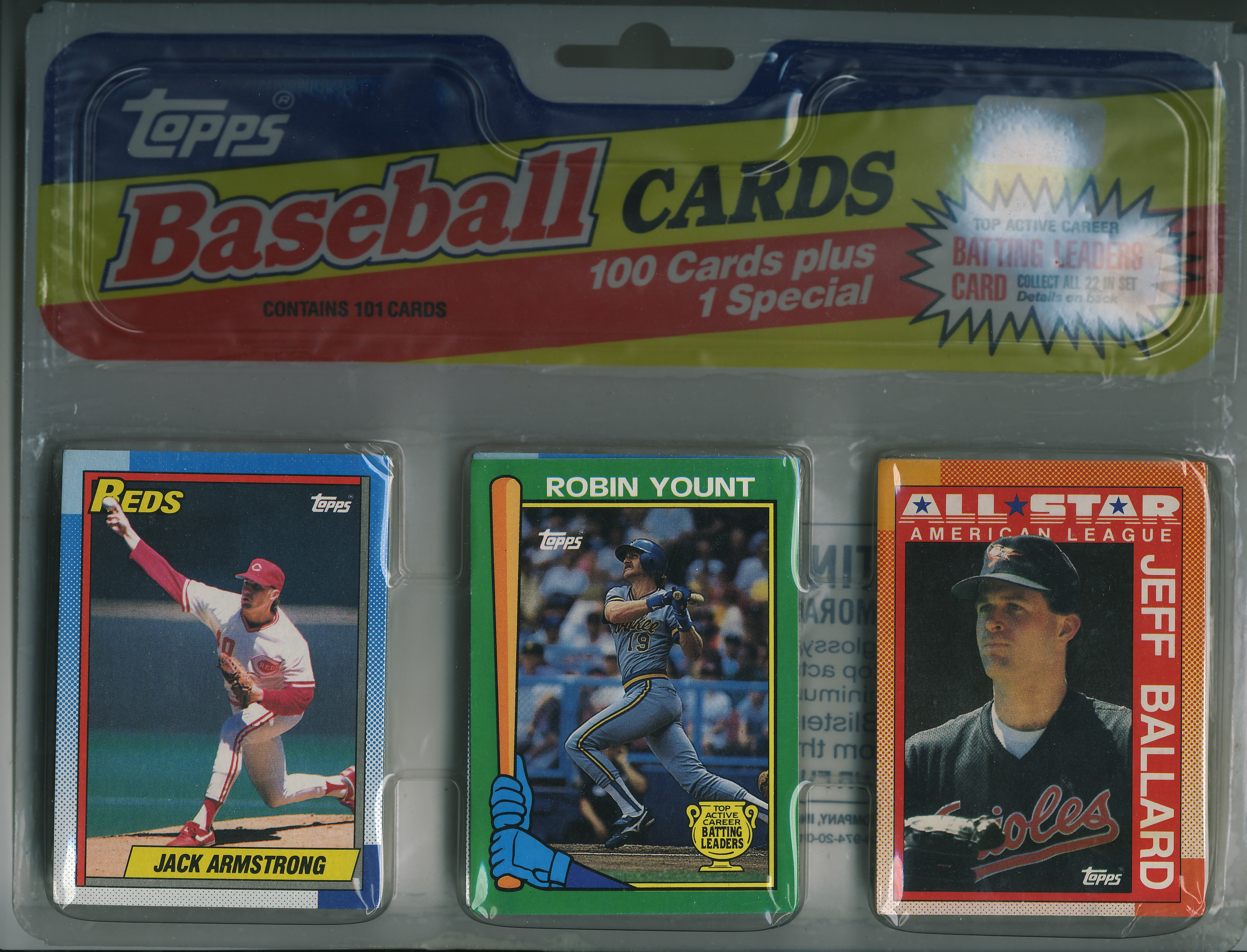 1990 Topps Blister Packs Lifetime Topps Project