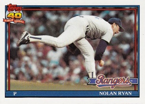 1991 Topps ryan rickey