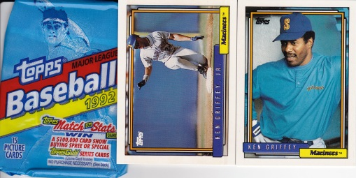 1992 Topps Griffey Pack
