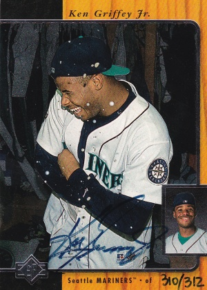 1997 SP 96 Buyback Griffey Jr