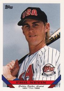 1993 Topps Golden Spikes Phil Nevin