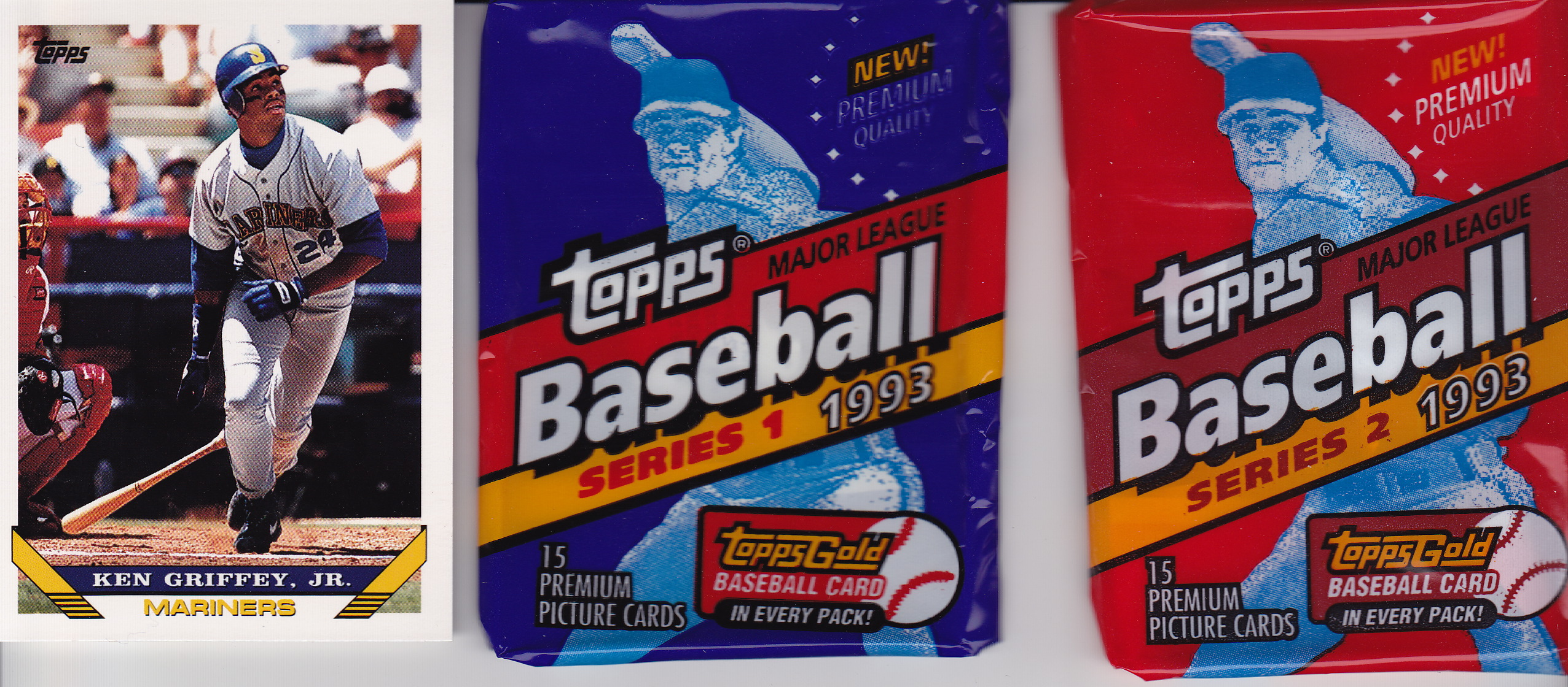 1993 Topps Overview Lifetime Topps Project