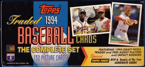 1994 Topps Traded Box