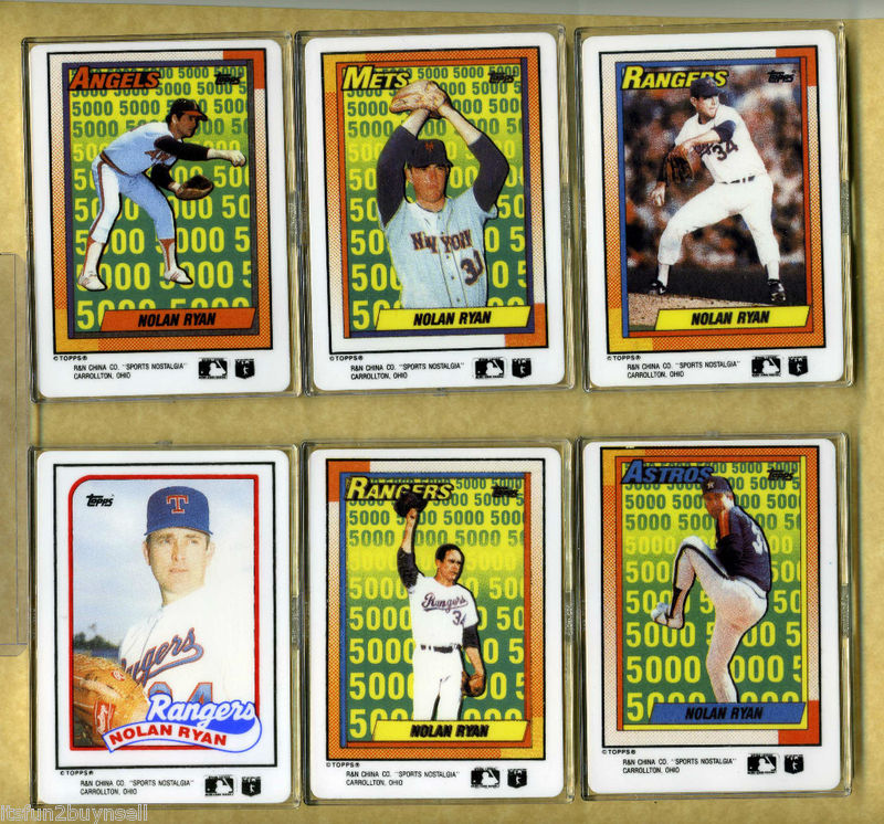 Topps Porcelain Cards Lifetime Topps Project