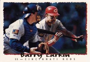 1995 Topps 90 Reds Larkin