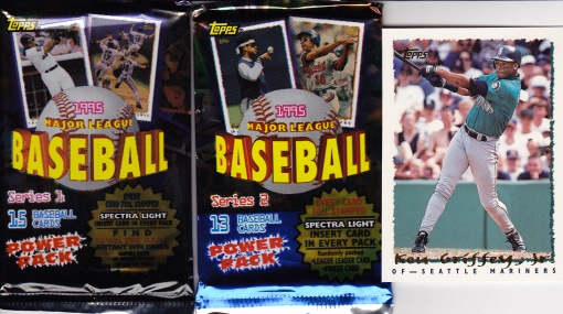 1995 Topps Griffey pack