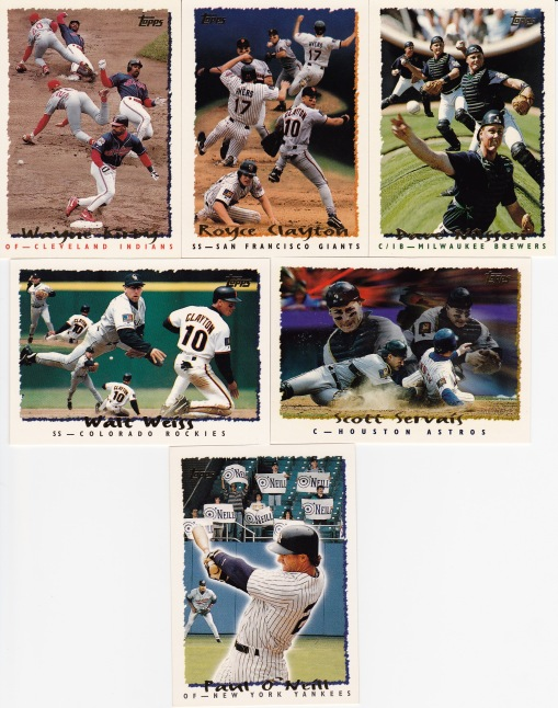 1995 Topps Pic effects