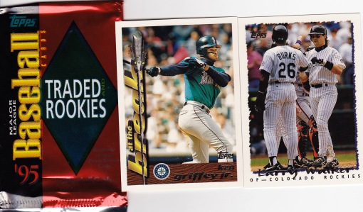 95 Traded Griffey pack