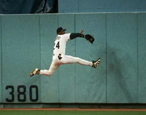 Griffey into wall