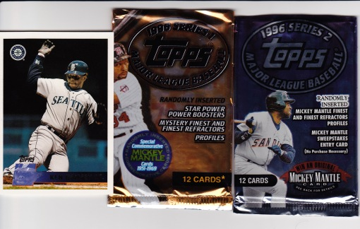 1996 Topps Griffey packs