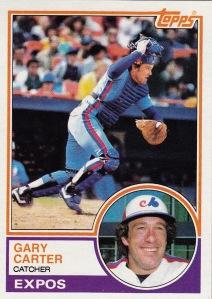 83 Topps 2nd best Card G Carter