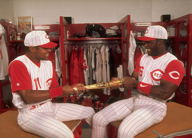fe6127fc4 But Larkin and Sanders were the Reds true stars. Sanders hit 28 homers with  99 RBI and got legitimate MVP consideration. Larkin was the catalyst for  the ...