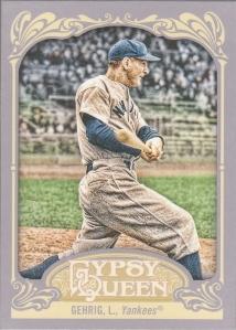 2012 Gypsy Gehrig