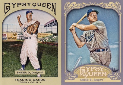 Gypsy compare Duke Snider