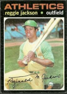 1971 Topps Reggie