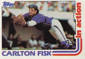 1982 Topps IA Fisk