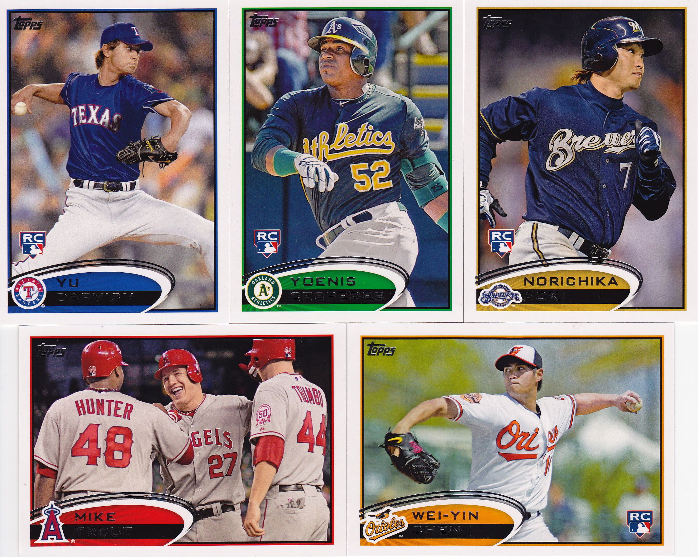 2012 Topps Series 2 Base Cards Lifetime Topps Project