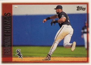 1997 Topps Pre production Thomas PP1