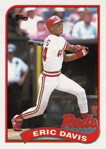 1989 Topps Eric Davis
