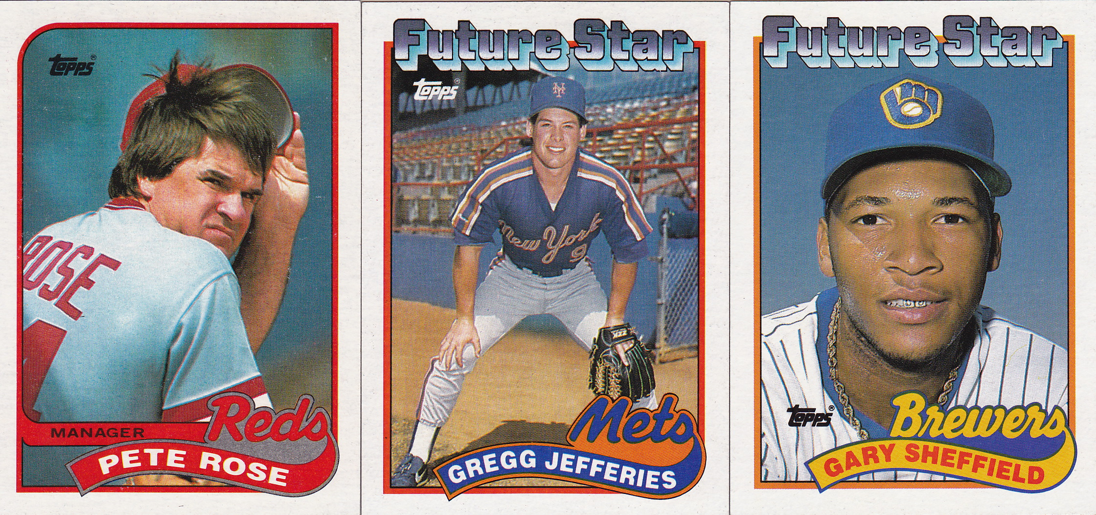 Completed Set 1989 Topps Lifetime Topps Project