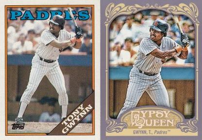 Tony Gwynn 1988 Topps 2012 Gypsy