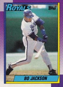 1990 Topps Bo Jackson