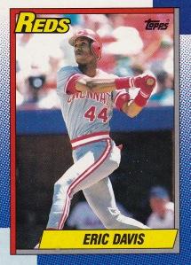 1990 Topps Eric Davis
