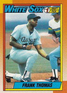 1990 Topps F Thomas DP RC