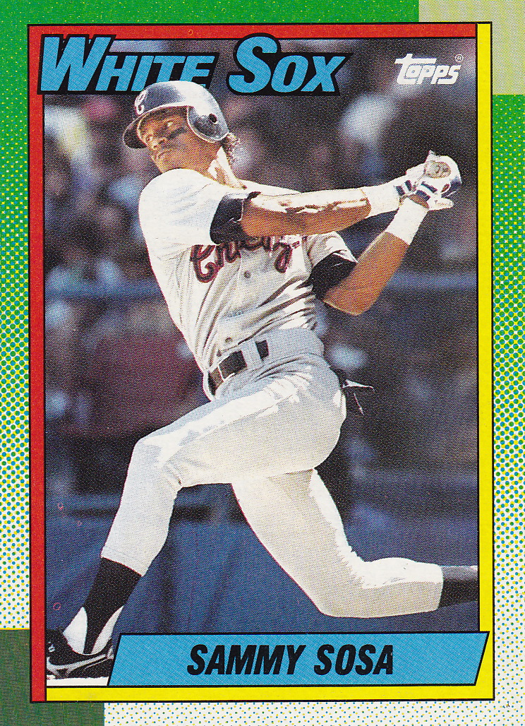 Completed Set 1990 Topps Lifetime Topps Project