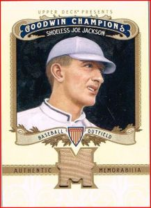 2012 Goodwin Shoeless Joe Materials