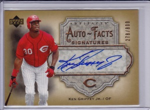 2006 Autofacts Griffey Jr