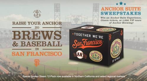 Anchor Steam Giants box