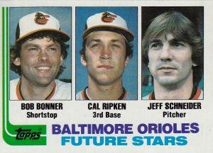 1982 Topps Ripken RC