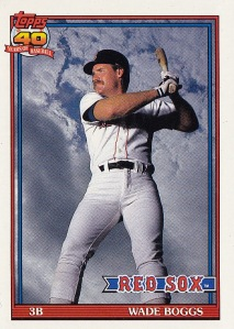 1991 Topps best card Boggs