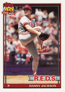 1991 Topps best Red D Jackson