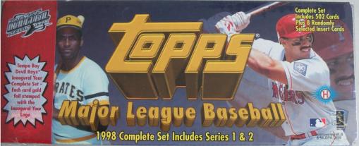 1998 Topps Devil Ray factory set