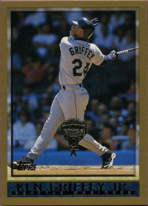 1998 Topps Griffey Diamondbacks parallel