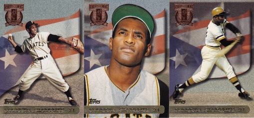 1998 Topps s1 box Clemente tribute